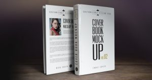 magazine cover template psd psd book cover mockup template