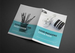 magazine cover templates free photorealistic catalogue magazine mockup