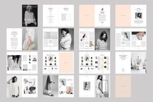 magazine layout template sodermalm magazine