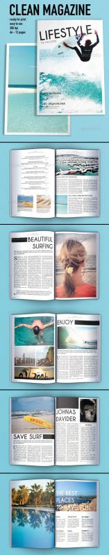 magazine layout templates