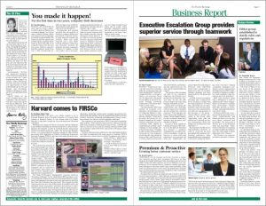 magazine template free fidelity newspaper design page