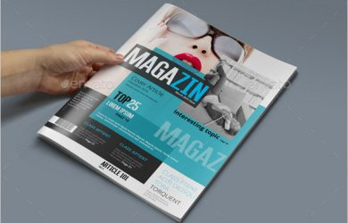 magazine template psd news magazine psd template sample