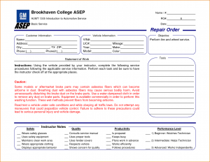 maintenance work order template repair order template