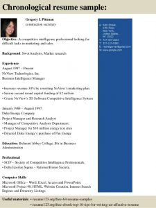 marketing analyst resume top construction secretary resume samples