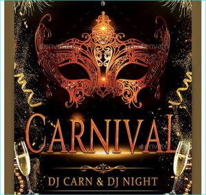 marketing flyer templates carnival masquerade party flyer