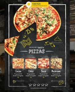 marketing flyer templates pizza restaurant flyer