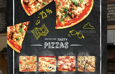 marketing flyer templates pizza restaurant flyer