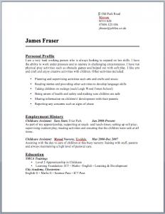marketing letter sample childcare nursery cv jobfox co uk