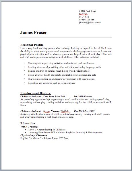 marketing letter sample