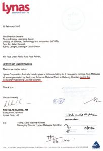 marketing letter sample letter of undertaking