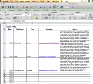 marketing plan template word coverage report example