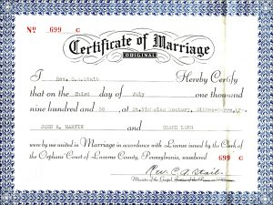 marriage certificate sample christian marriage certificate sample