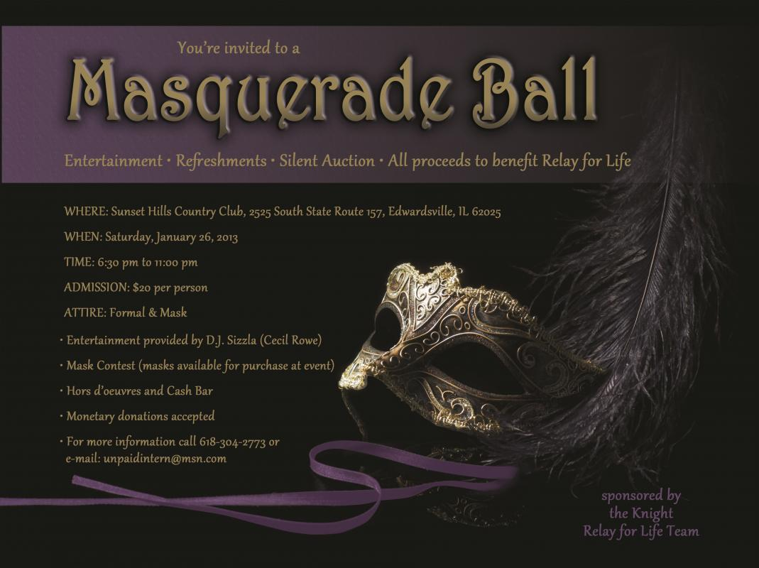 Masquerade Invitations Template Free | Template Business