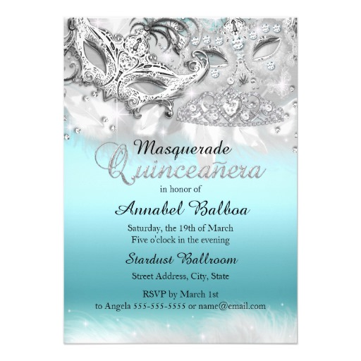 masquerade invitations template free