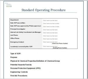master schedule template best standard operating procedure sop templates within standard operating procedures template