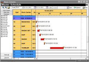 master schedule template master schedule manufacturing erp software gantt chart