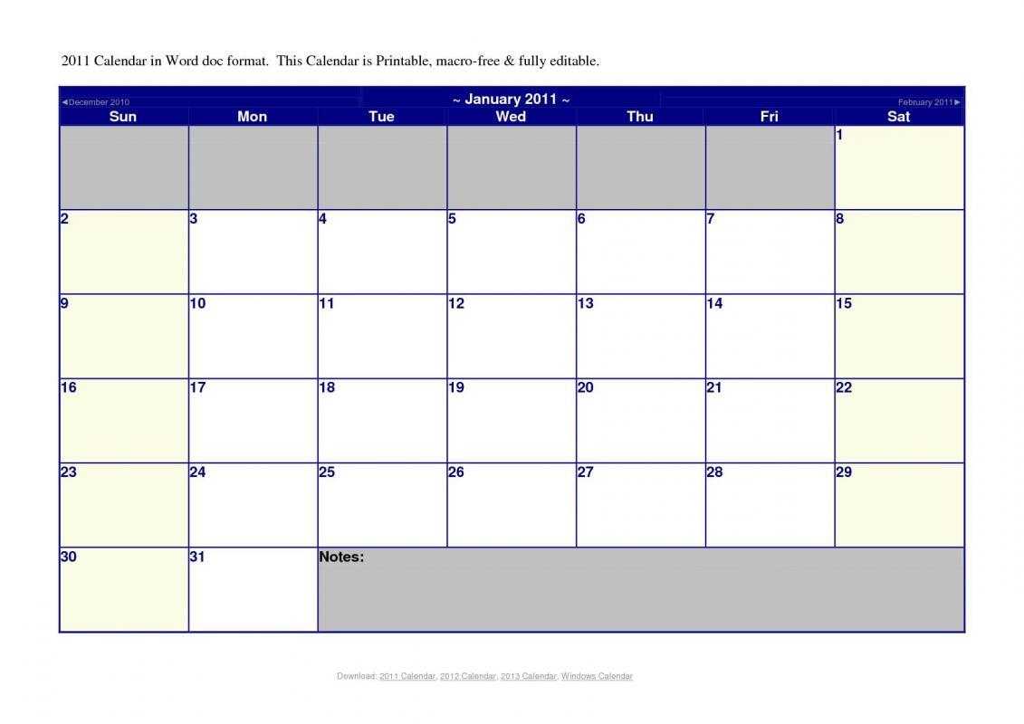 Meal Calendar Template | Template Business