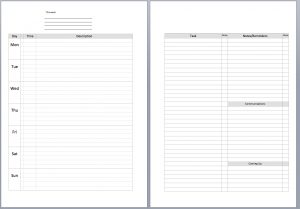 meal plan template pdf tmweekviewundated copy