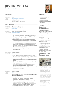 mechanical engineering resume mechanicalengineerresume example