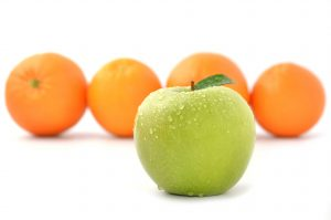 media planning template oranges and an apple
