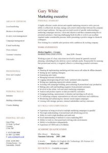 medical assistant resume example pic marketing executive cv template sample