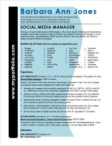 medical assistant resume sample social media manager resume sample