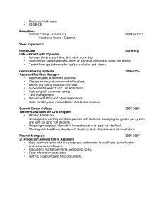 medical assistant resumes lvn resume tiffany rose