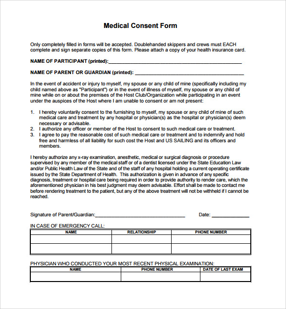 Medical consent form for grandparents template business medical consent form for grandparents altavistaventures Images