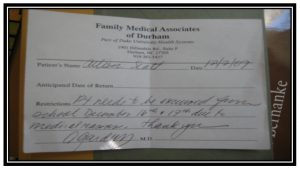 medical excuse notes real doctors note