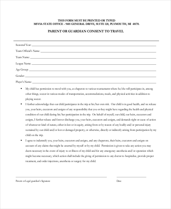 Medical release form for grandparents template business medical release form for grandparents altavistaventures Choice Image