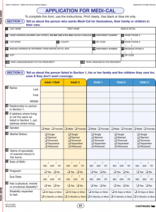 medical release form pdf application for medi cal state of california