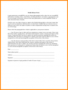 medical release form template general release of information form template standard media release form d