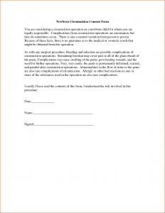 medical release forms template medical consent form for grandparents