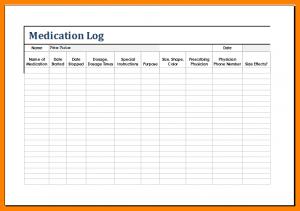 medication list template patient medication list template medication log