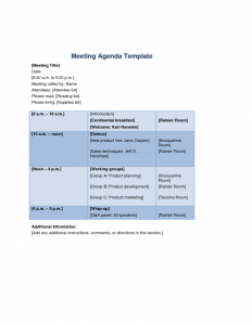 meeting agenda templates meeting agenda templates doc x