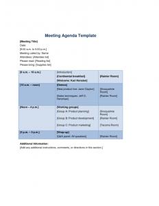 meeting agenda templates meeting agenda templates doc x