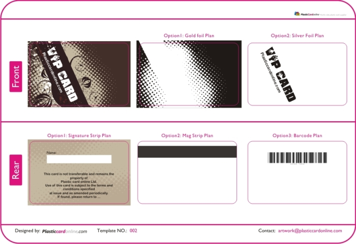 Membership Card Template | Template Business