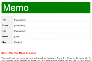 memo template word interoffice memo template