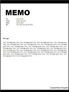 memo template word memo template