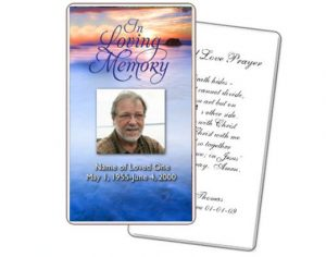 memorial card template free funeral memorial cards template