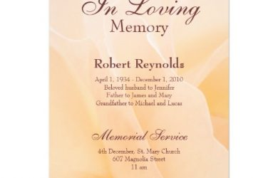 memorial cards for funeral template free memorial announcement invitation rbcaacbcebc imtzy byvr