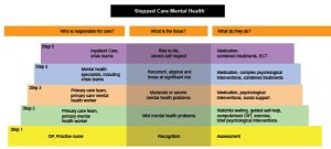 mental health treatment plan template stepped care