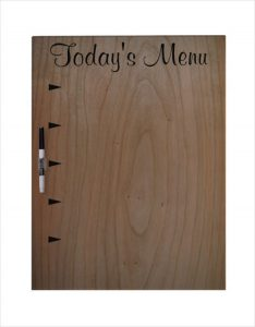 menu board template large dry erase board template download