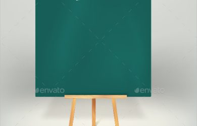 menu board template menu board on tripod template download