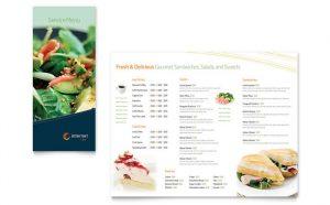 menu design templates free sample menu template s
