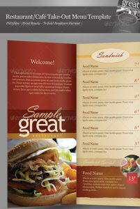 menu design templates restaurant menu design bshk