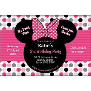 mickey mouse birthday invites aminney x