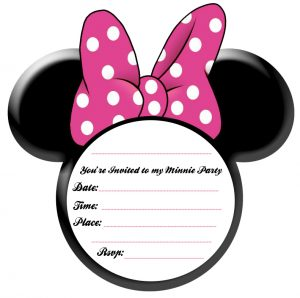mickey mouse birthday invites minnie mouse photo invitations template tbm