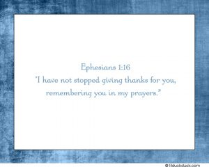 mickey mouse thank you cards ephesians i have not stopped giving thanks spiritual thank you cards for your remembering you in my prayers good design background white and blue theme