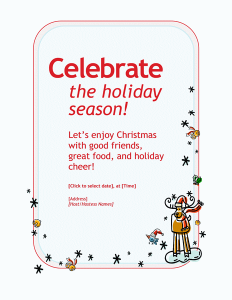microsoft office invitation templates free download outstanding employee holiday party invitation around inexpensive party